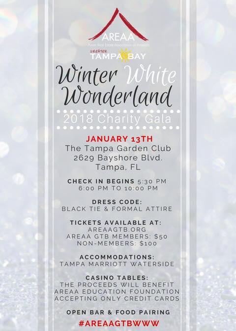 2018 AREAA GTB Charity Gala – Winter White Wonderland