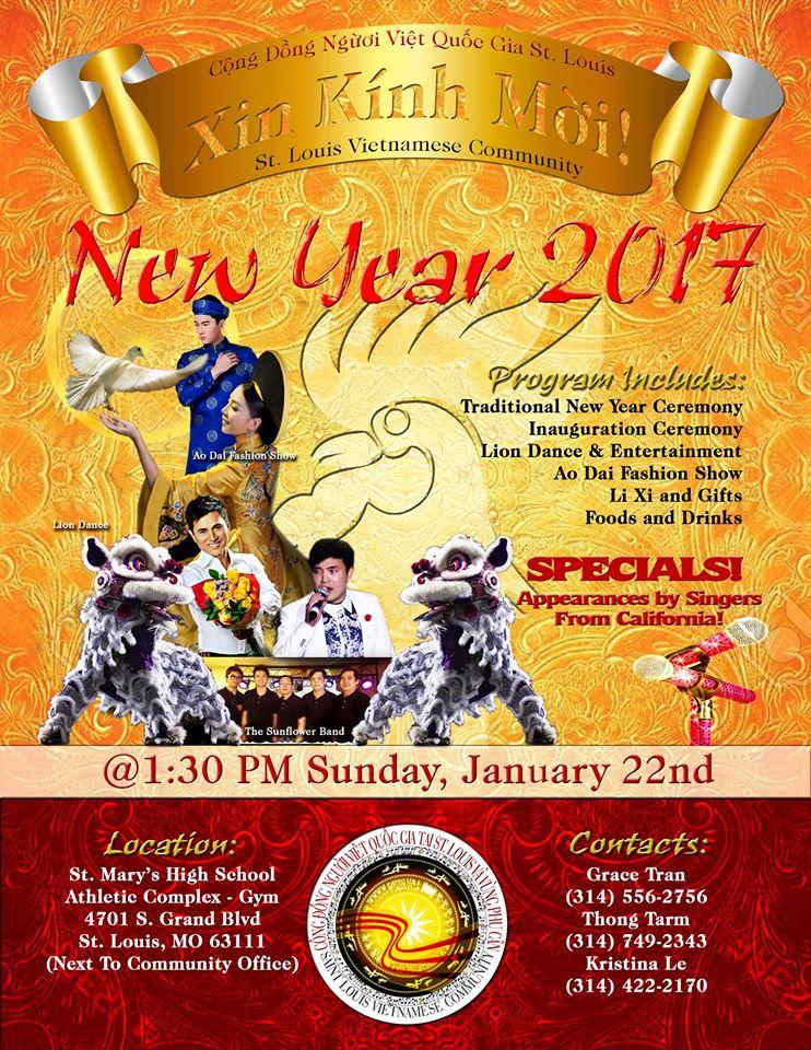 Vietnamese New Year Event 2017!