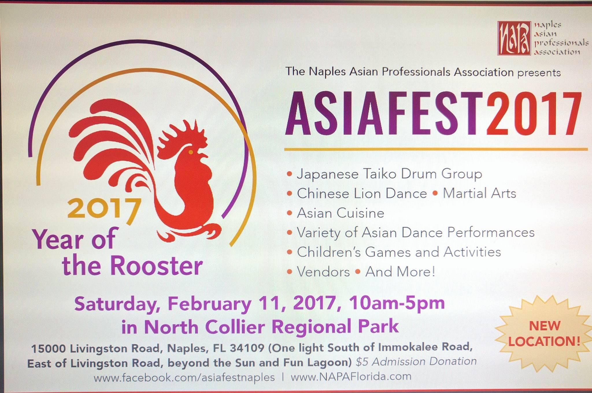 Asia Fest 2017 Naples, FL