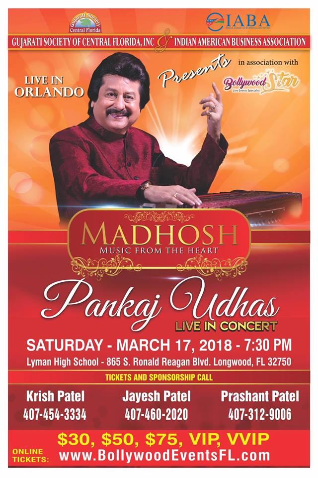 Punkaj Udhas Live in Concert