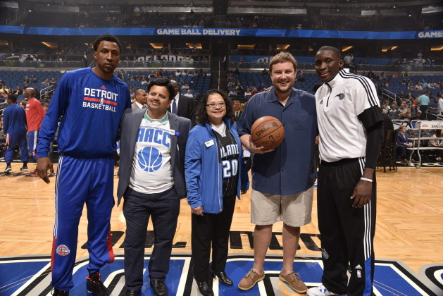 ORLANDO, FL - MARCH 27: of the Detroit Pistons against the Orlando Magic during the game on March 27, 2015 at Amway Center in Orlando, Florida. NOTE TO USER: User expressly acknowledges and agrees that, by downloading and or using this photograph, User is consenting to the terms and conditions of the Getty Images License Agreement. Mandatory Copyright Notice: Copyright 2015 NBAE (Photo by Gary Bassing/NBAE via Getty Images)