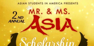 ASiA presents: 2nd Annual Mr. & Ms. ASiA Scholarship Pageant