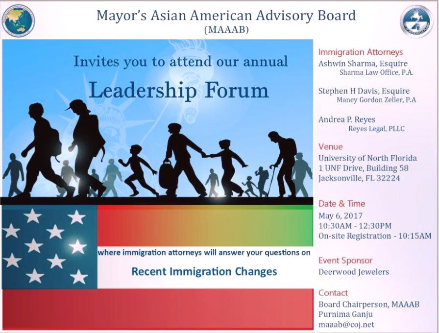 Mayor's Asian American Advisor Board's Leadership Forum