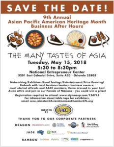 9th Annual Asian Pacific American Heritage Month