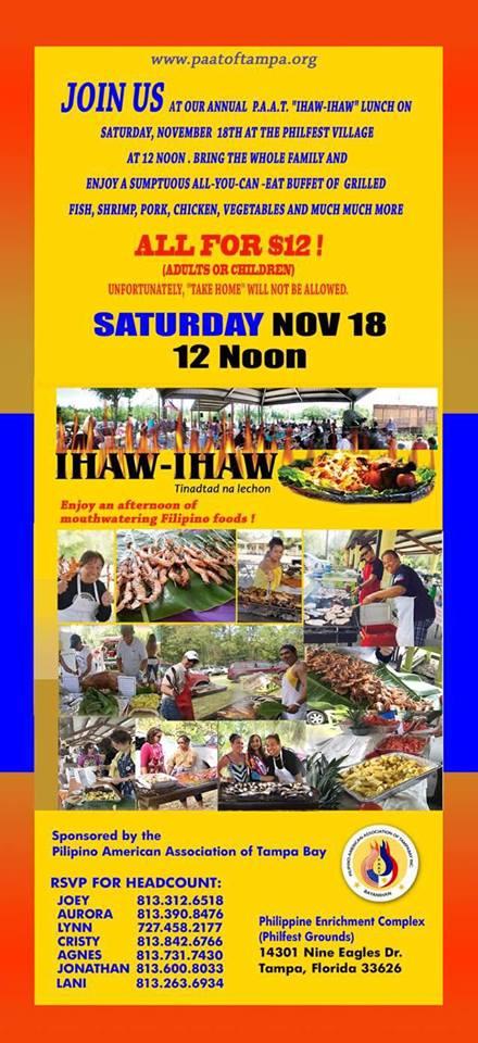 Tampa's annual IHAW-IHAW