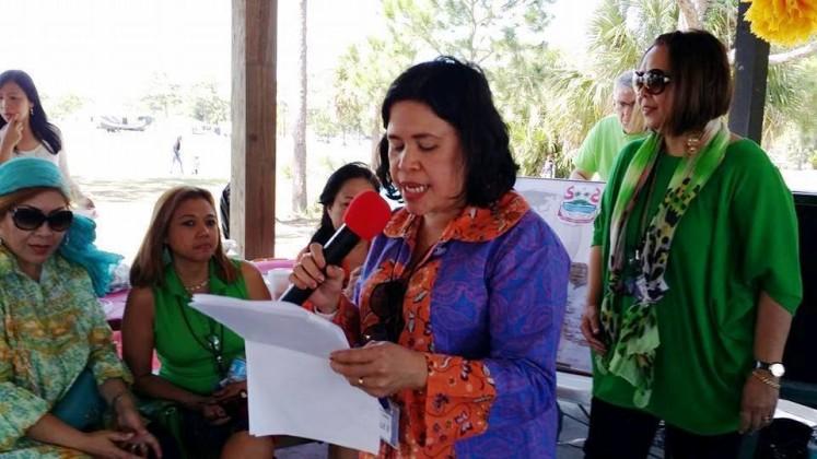 Master of Ceremonies Julie Binyo