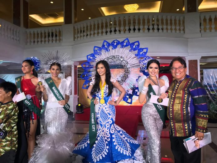 Miss Philippines Earth 2017 Trash-to-Clas