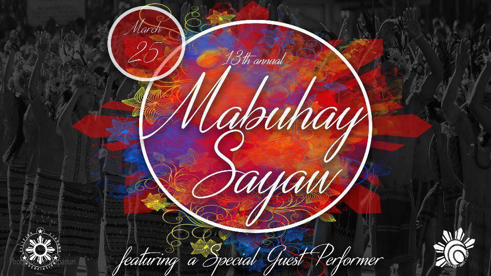 13th Annual Sayaw Showcase: Mabuhay Sayaw!