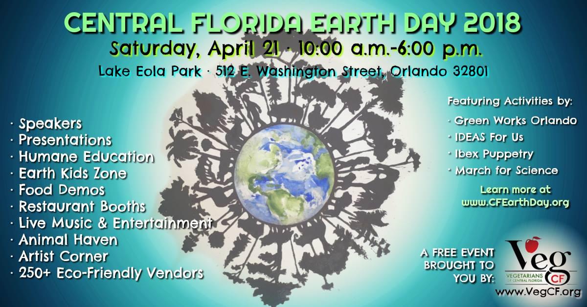 Central Florida Earth Day 2018