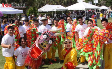 Suncoast Association of Chinese Americans (SACA) Dragon Dance