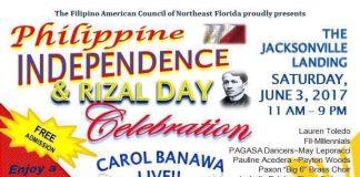 Philippine Independence & Rizal Day Celebration