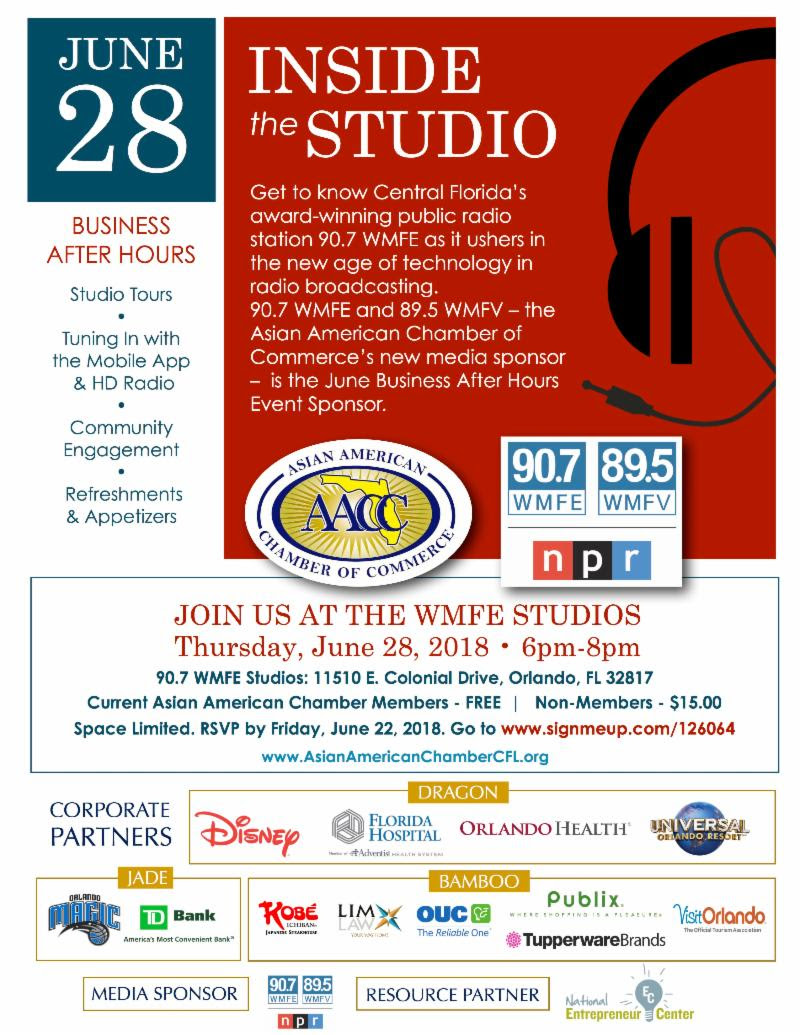 AACC WMFE Business After Hours