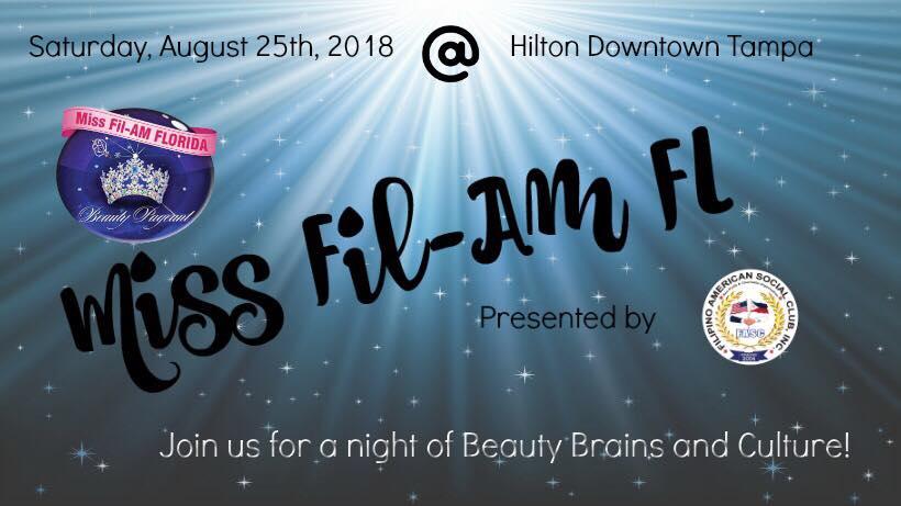 Miss Fil-AM FL 2018