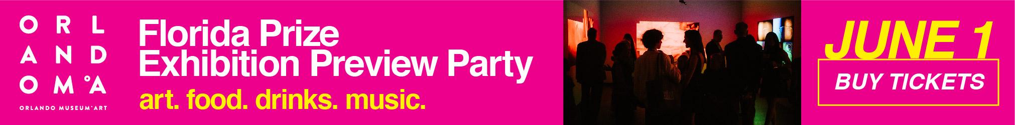 Orlando Museum Art-Art Preview Party