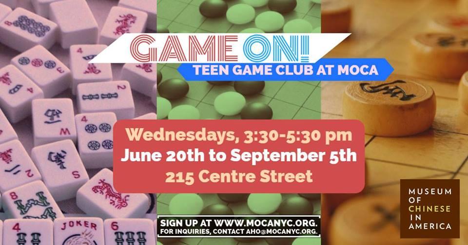 Game On! Teen Game Club