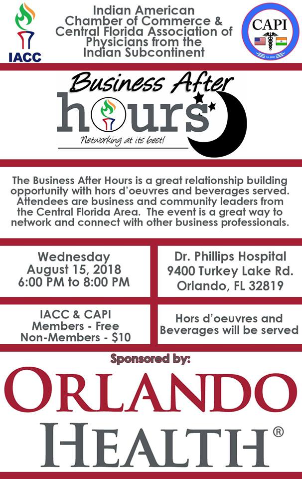 Business After Hours with Orlando Health