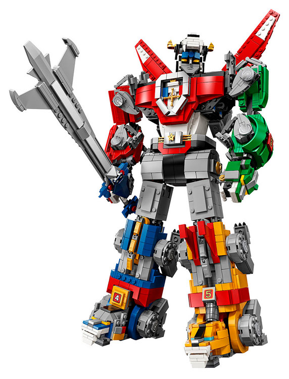 LEGO Voltron Ideas