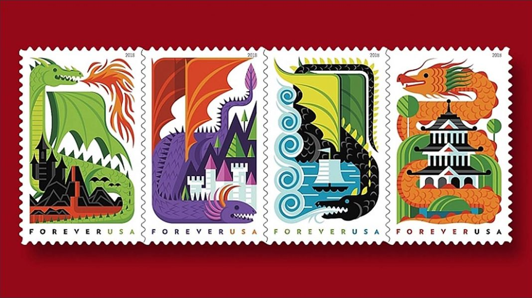 Dragon Stamps