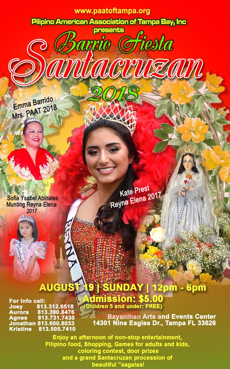 PAAT Barrio Fiesta and Santacruzan 2018