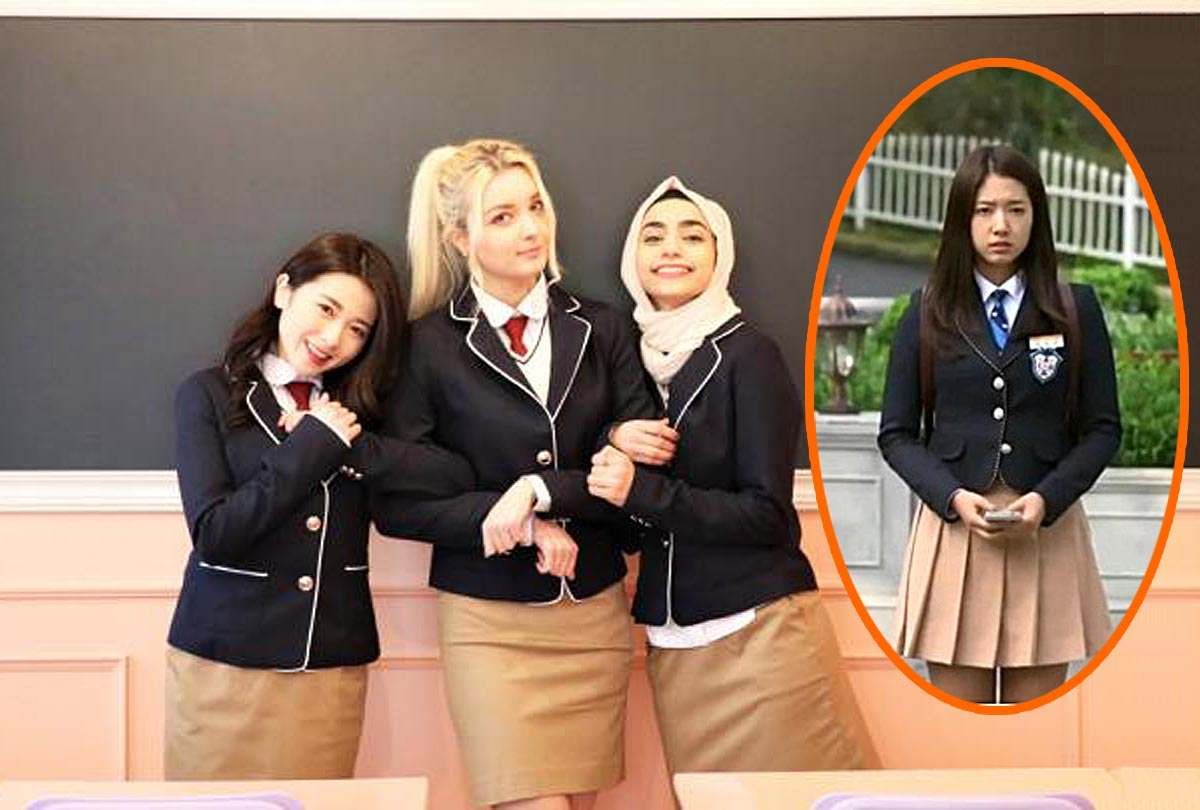 Snap Photo with Wearing K-POP Idol Style School Uniform ...