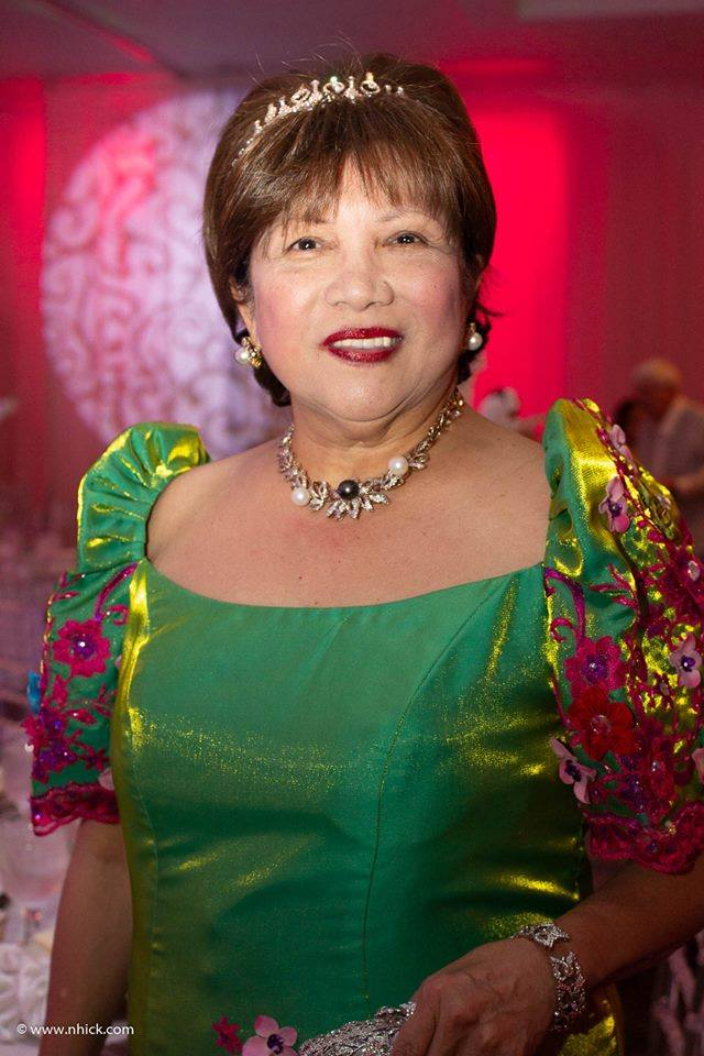 Mrs Lucy Bautista 2018 Sampaguita Ball Chairman