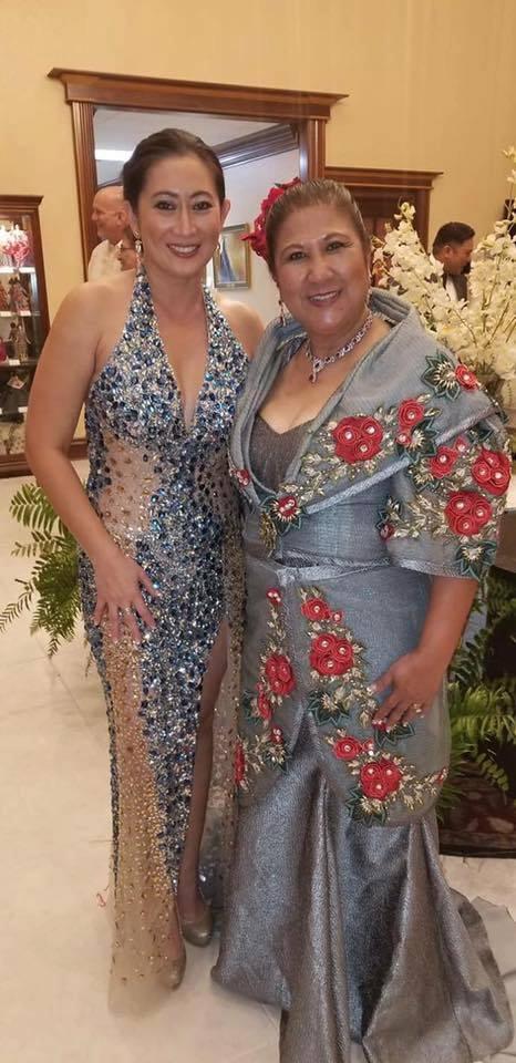 Mylene Abinales-Mangusing and Vivian Furigay-Dudgeon