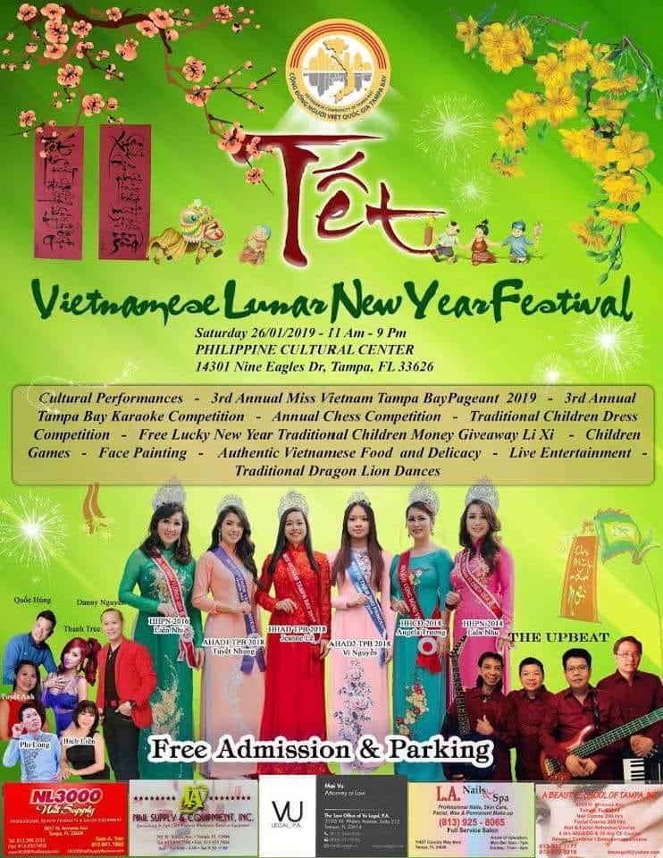 Vietnamese New Year TET 2019 Festival