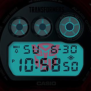 G-Shock x Transformers