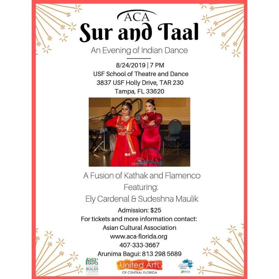 Sur And Taal Indian Dance In Tampa Asia Trend