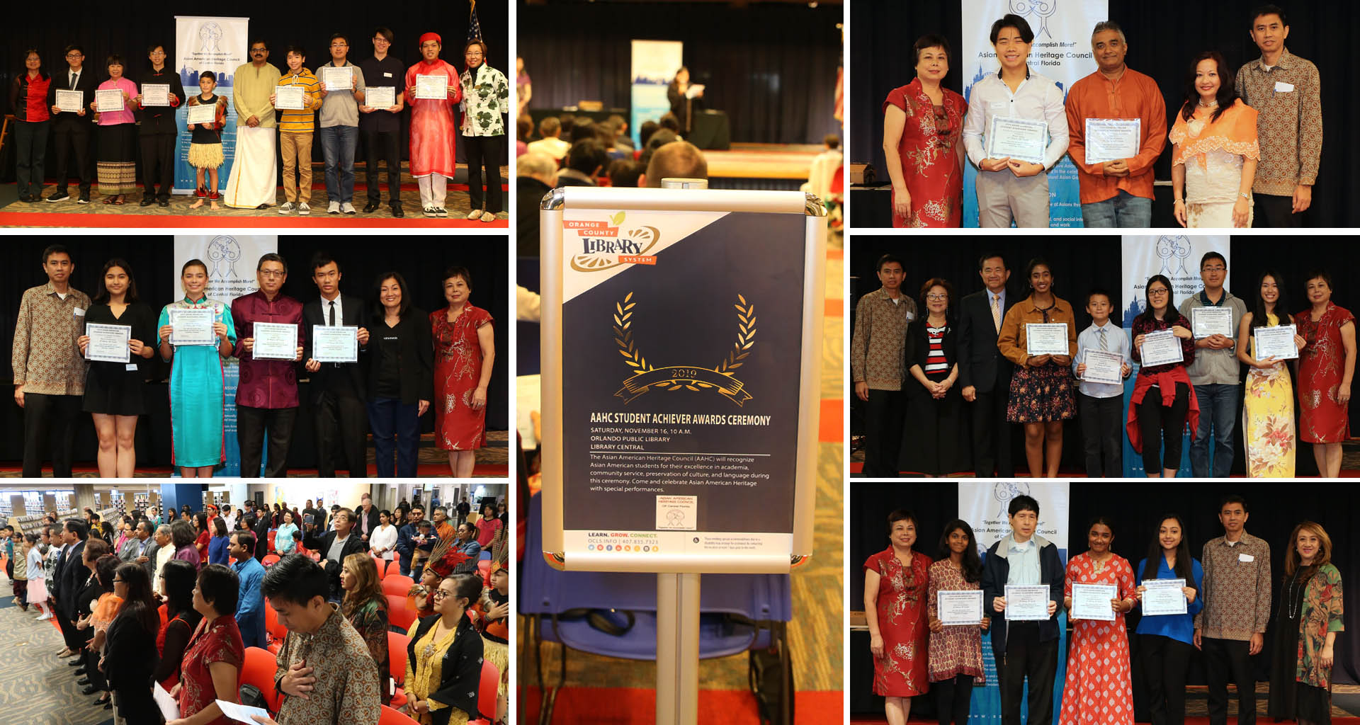AAHC Student Achievers Scholastic Awards 2019