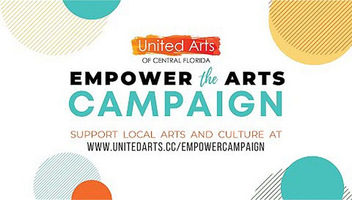UNITED ARTS OF CENTRAL FLORIDA - Empower the Arts Campaign.