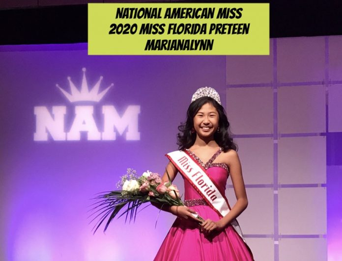 MarianaLynn Togado - National American Miss (NAM) Miss Florida Pre-Teen