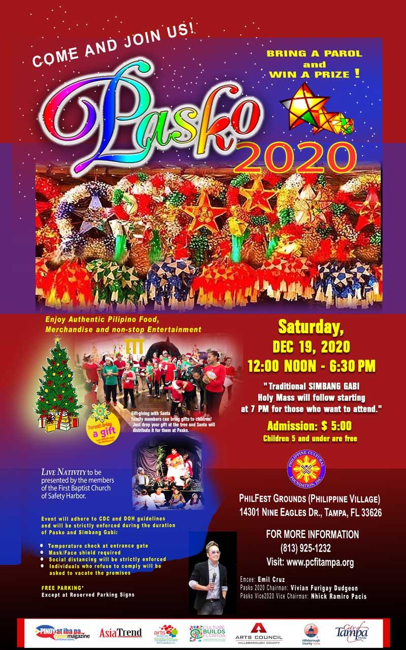 PASKO 2020 – A Philippine Christmas Celebration   Asia Trend