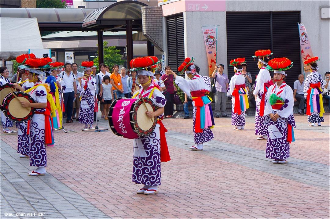 Sansa Odori Festival