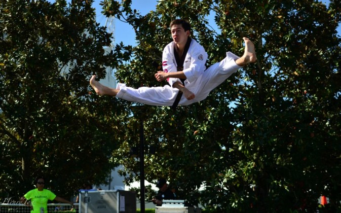 Taekwondo by Adrian Gilliam, Korean Student Association UCF