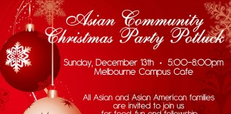 Asian Community Christmas party Potluck