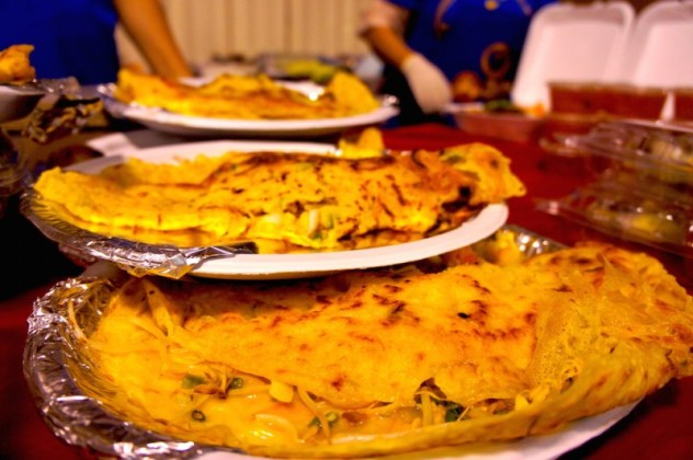 Banh Xeo Vietnamese pan cakes