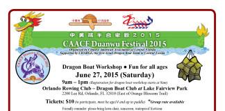 CAACF Dragon Boat 2015