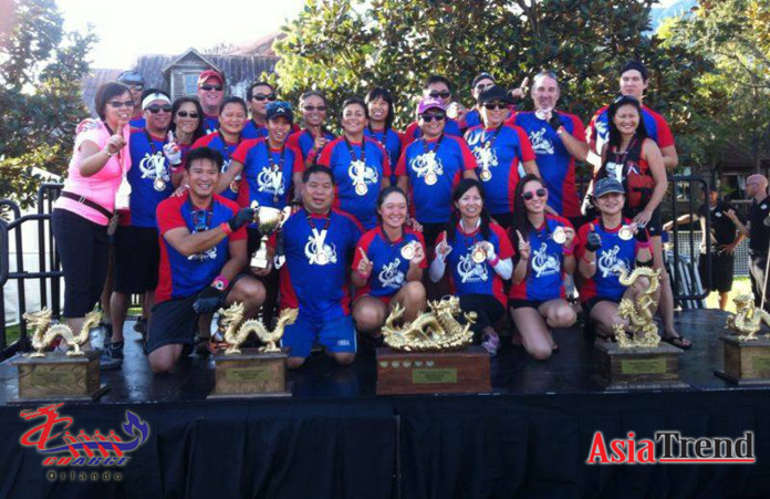 CHARGE Dragon Boat team
