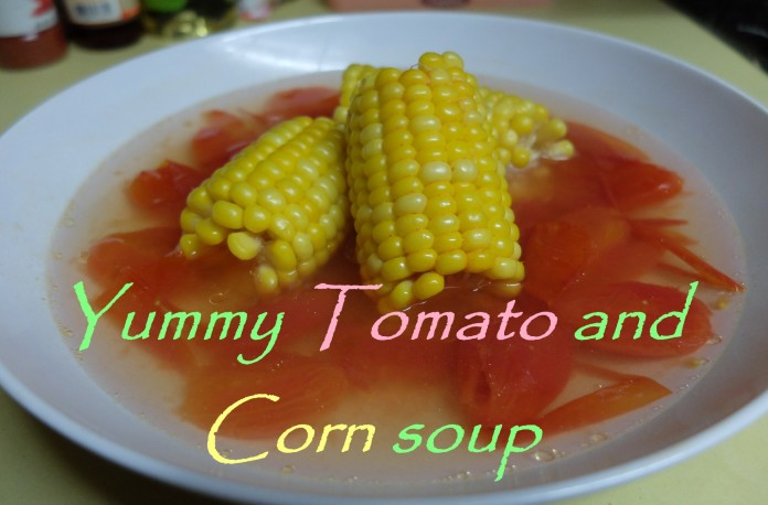 Yummy Tomato and Corn soup
