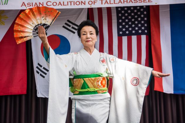 Toyoko Arnold of Pensacola Japanese Community