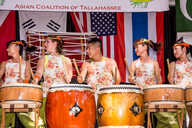 Matsuriza, Japanese Taiko Drummers from Walt Disney World, Orlando, FL.