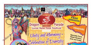 Dragon Parade Lunar New Year Festival 2016