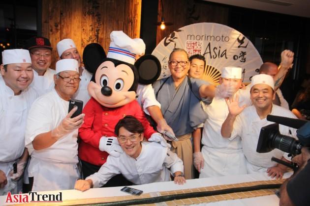 Morimoto Asia, Iron Chef Morimoto