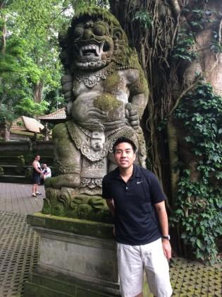 Ancient Balinese sculptures