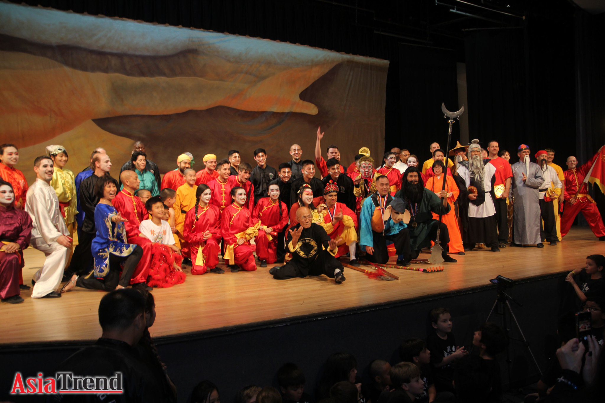 Journey to the West features 30 instructors and 150 students with only one group rehearsal