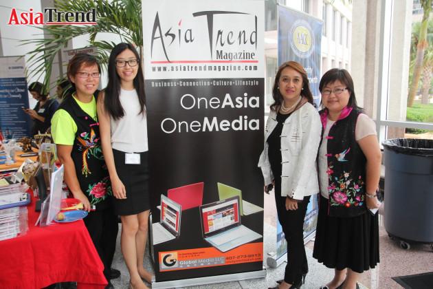 Shally Wong, Shannon Yau, Agnes Chau, and Pauline Ho