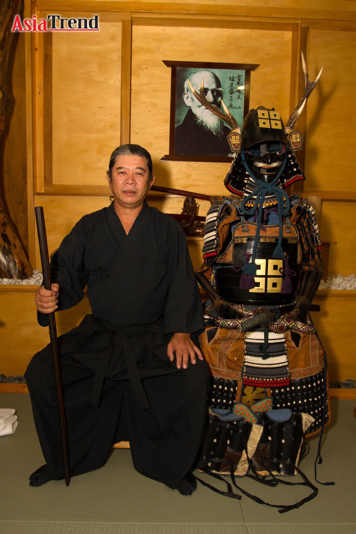 Ohashi Kenshin, sensei – 15th generation souke (headmaster) of Mukushin-ryu Bujutsu