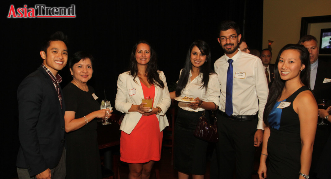 GOAABA Members, Don Nguyen and Camlinh Rogers, together with guests