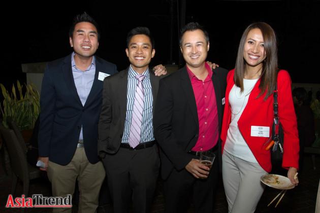 Ricky Ly, Don Nguyen, Greg Maaswinkel and June Wong